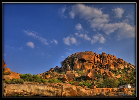 Secred Center Hampi
